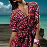 Robe tunique de plage