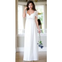 Robes blanches longues