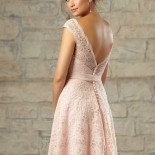 Robe cocktail mariage dentelle