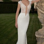 Robe longue pour mariage mairie