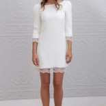 Robe simple mariage civil