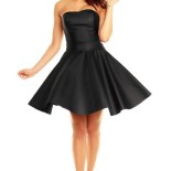 Robe bustier patineuse