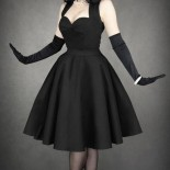 Robe pin up noire