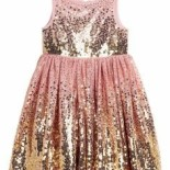 Robe sequins h&m