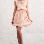 Robe chic rose pale