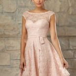 Robe habillee rose
