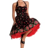 Robe pin up rétro 50s rockabilly