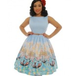 Robe rockabilly rose