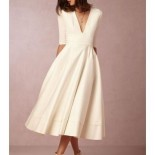 Robes longues mariage cocktail
