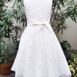 Communion robe blanche