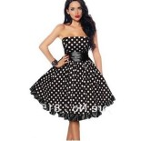 Robe bustier pin up