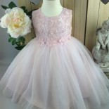 Robe ceremonie bebe rose
