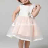 Robe ceremonie enfant rose