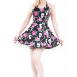 Robe courte pin up
