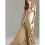 Robe de bal satin