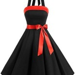 Robe de cocktail pin up