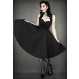 Robe longue pin up