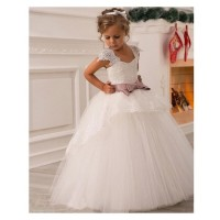 Robe princesse ceremonie fille