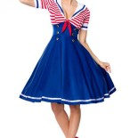 Robe sailor pin up