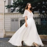 Robe de mariée simple 2020