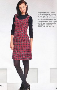 Robe chasuble hiver femme