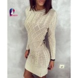 Robe chaude hiver femme