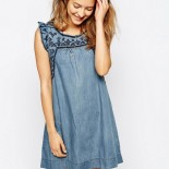 Robe tunique jean