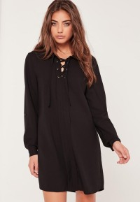 Robes chemises manches longues