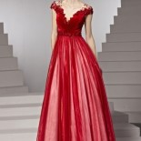 Robe de fiancaille rouge