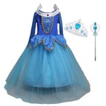 Deguisement robe de princesse fille