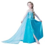 Robe de princesse des neiges