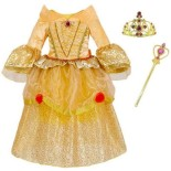 Robe deguisement princesse belle