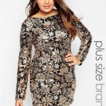 Robe en sequin