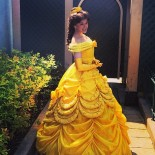 Robe princesse disney belle