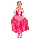 Robe rose princesse fille