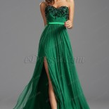 Robe emeraude