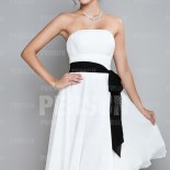 Robe cocktail bustier mariage