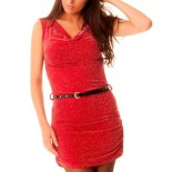 Fashion rouge robe