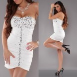 Robe bustier fashion