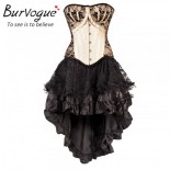 Robe bustier gothique