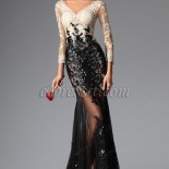 Robe cocktail en dentelle