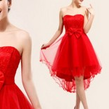 Robe pour mariage rouge