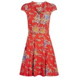 Robe retro rouge