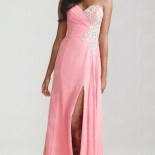 Robe rose de soiree