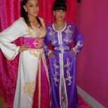 Robes orientales pour mariage