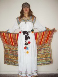 Robes traditionnelles kabyles