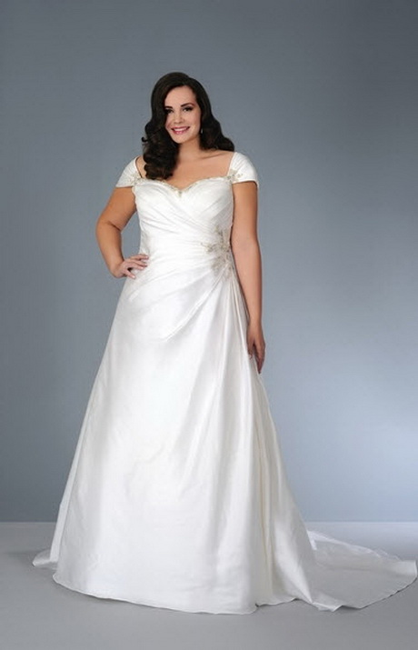 Robe mariee femme ronde grande taille