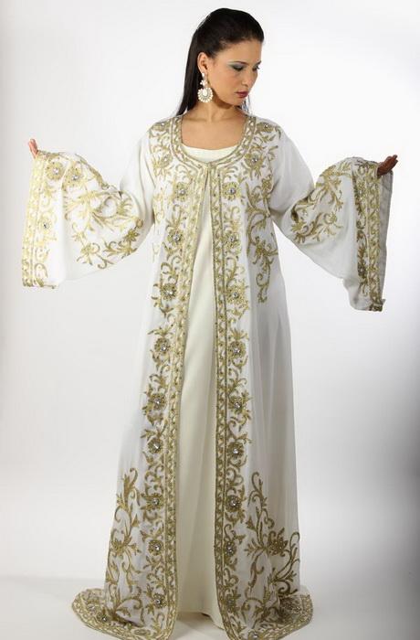 Robe orientale mariage vert