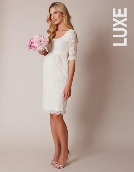 Robe de mariee civil enceinte