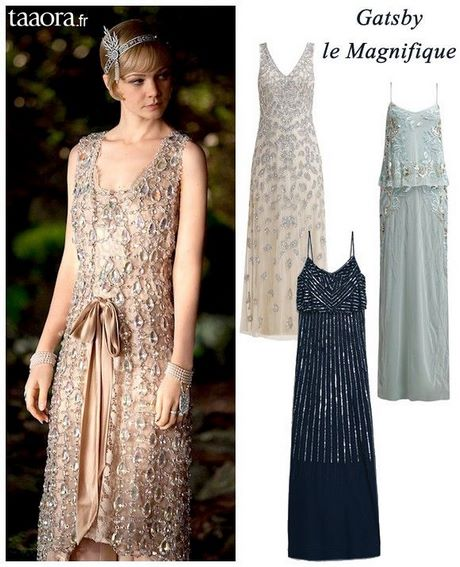 Robe style annee 20 pour mariage